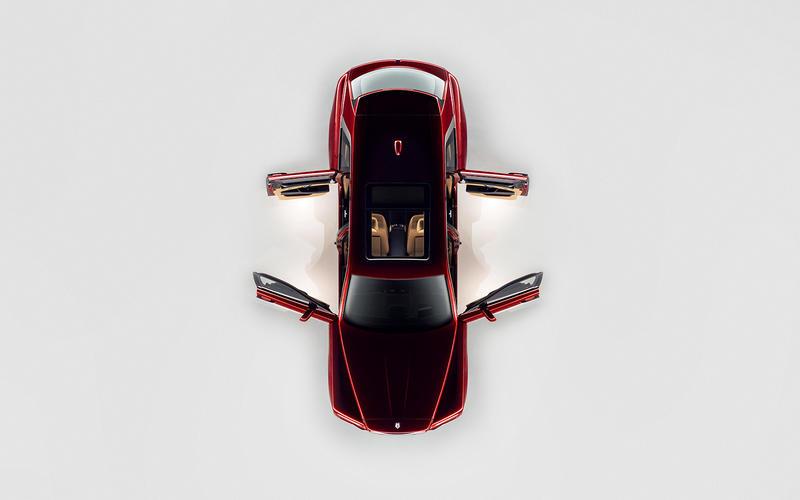 Màu Đỏ - Đánh Giá Chi Tiết Xe Rolls Royce Cullinan Gầm Cao V12 Ra Mắt Tại Anh
