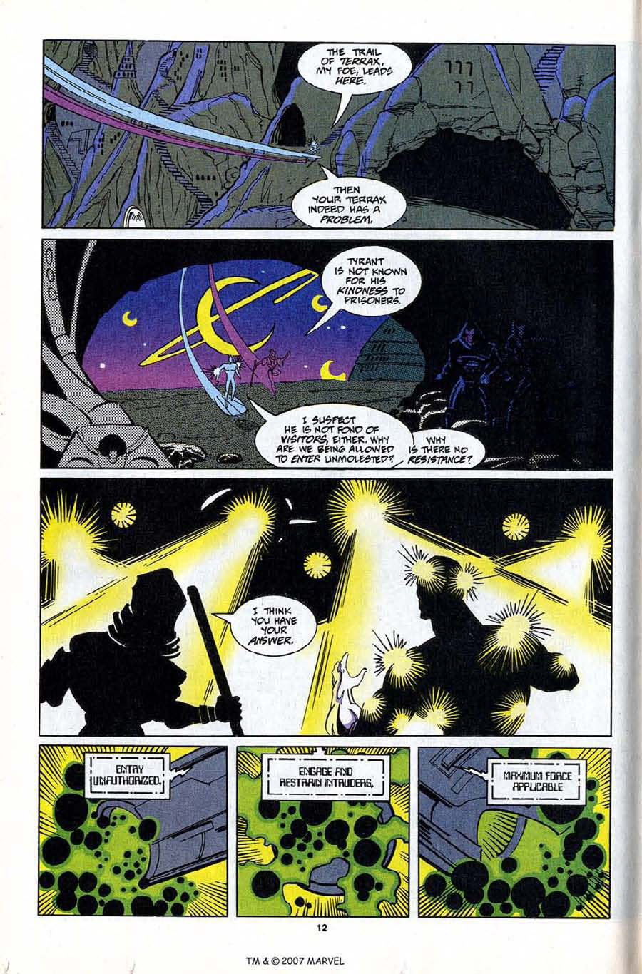 Read online Silver Surfer (1987) comic -  Issue #81 - 14