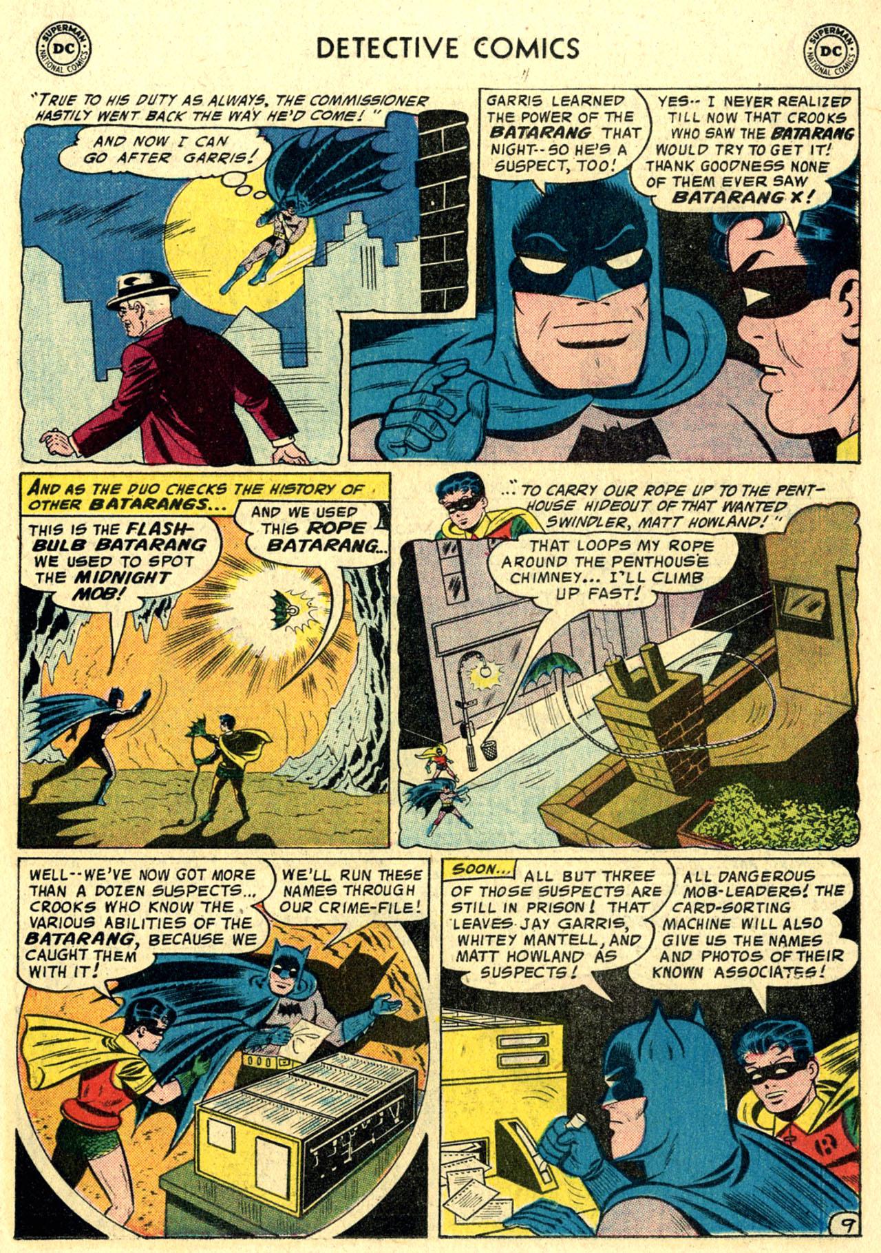 Read online Detective Comics (1937) comic -  Issue #244 - 11