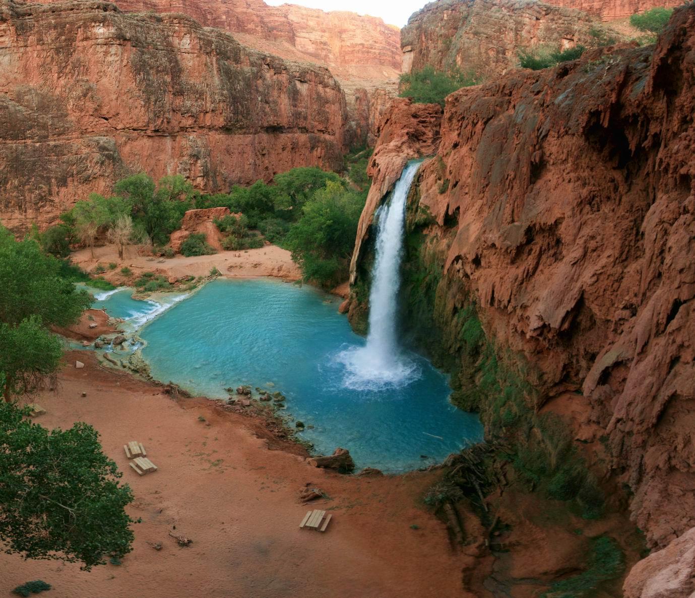 Havasu Falls, Havasupai Canyon, Arizona By Zubi Travel