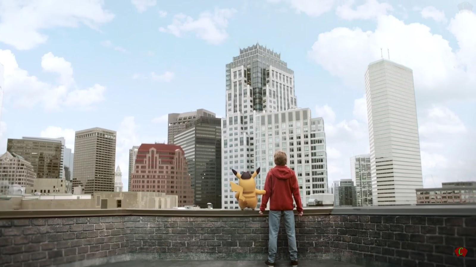Pokemon GO - film na podstawie gry Detektyw Pikachu, klatka zwiastuna