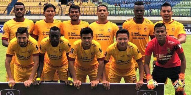 Daftar Pemain (Skuat) Sriwijaya FC Musim 2018-2019