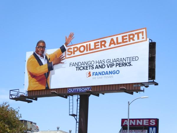 Fandango Spoiler Alert billboard