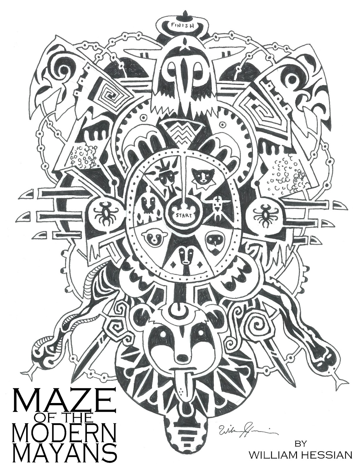 Bearded Bunny Blog Maze Of The Modern Mayan