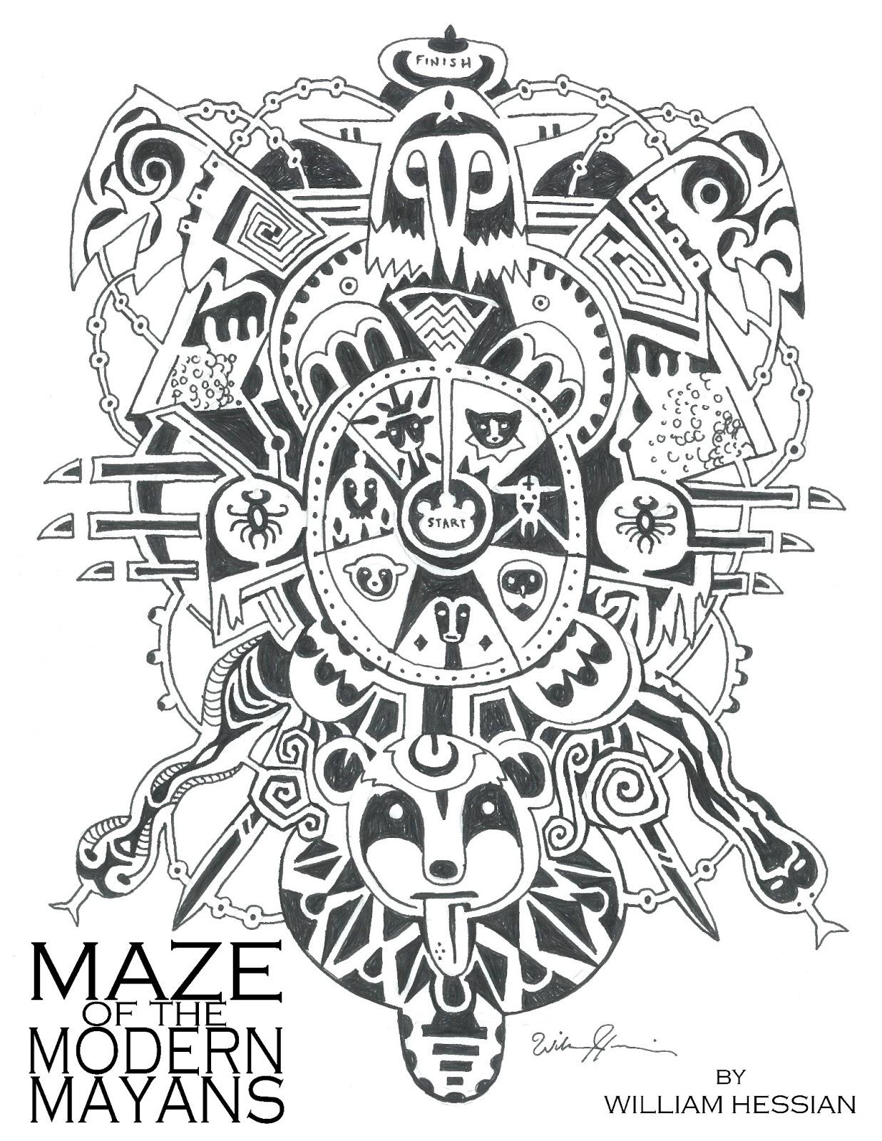 Bearded Bunny Blog Maze Of The Modern Mayan