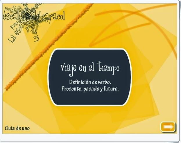 """""""Viaje en el tiempo"""" (Verbos de Lengua Española de 1º de Secundaria)"""