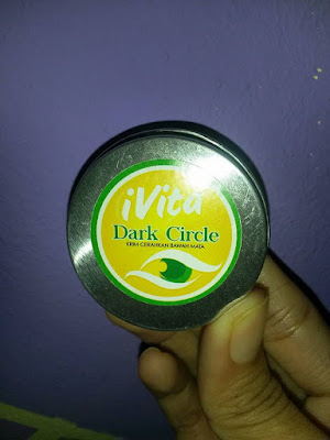 lingkaran gelap bawah mata, eyebag,cara hilangkan lingkaran gelap bawah mata, krim ivita dark circle