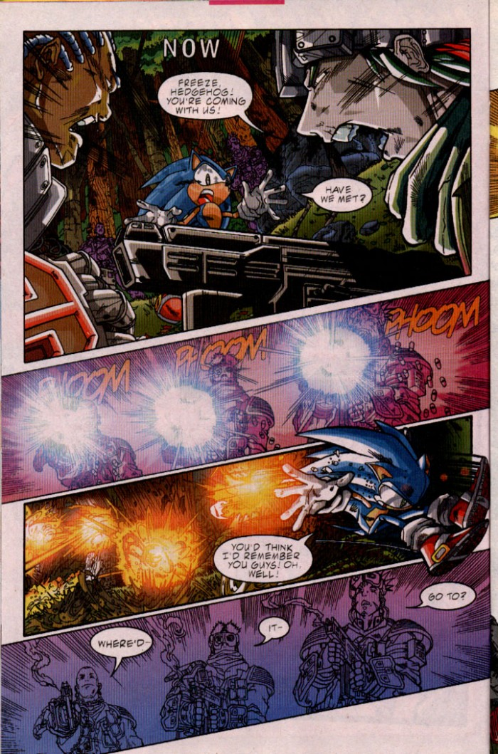 Read online Sonic The Hedgehog comic -  Issue #98 - 11