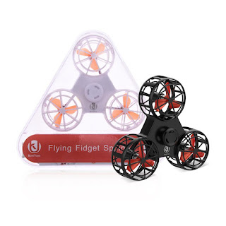 Spesifikasi F1 Fidget Spinner Drone - OmahDrones