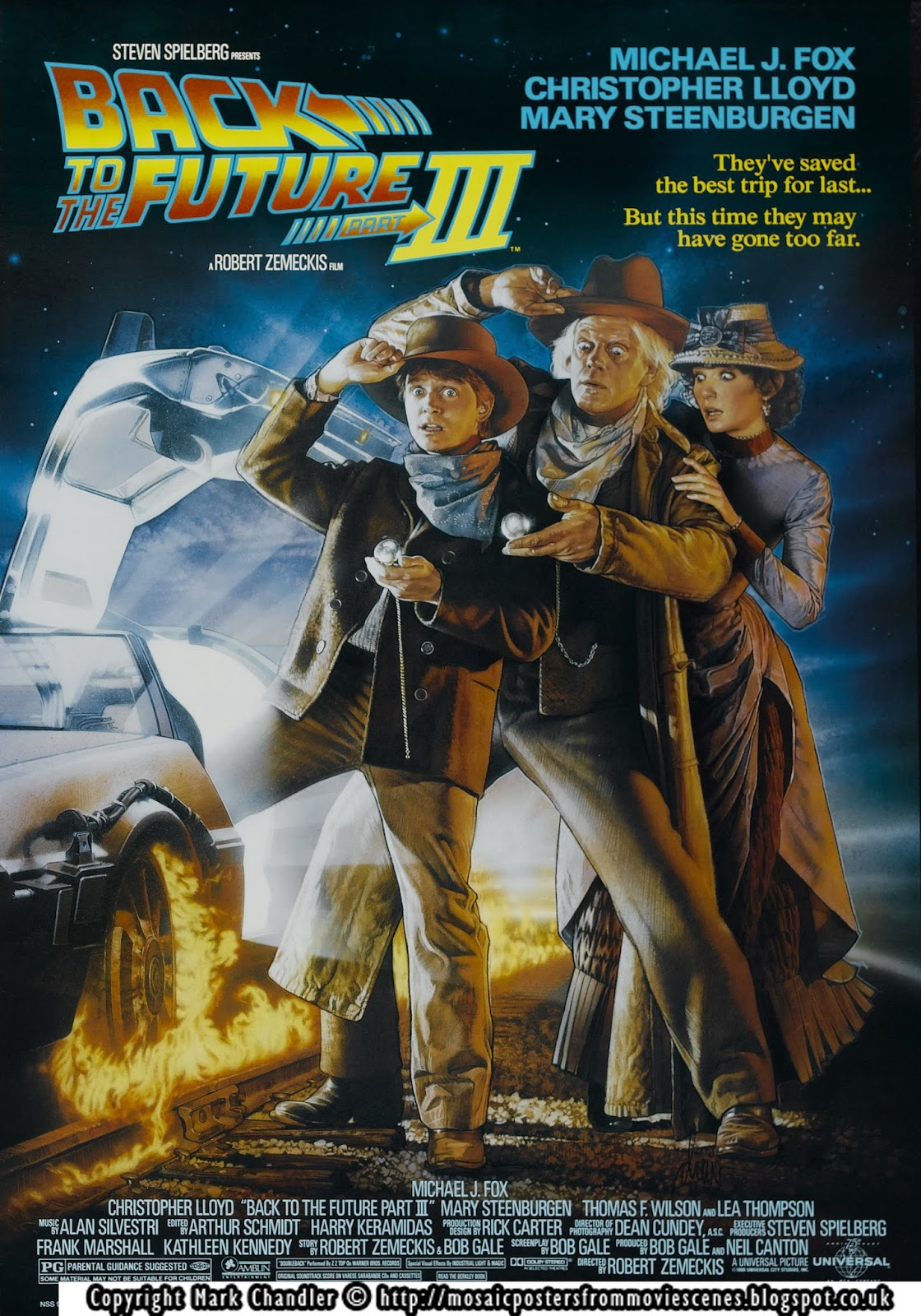 Mosaic: Back to the Future: Part 3 | Mosaic Posters from ...