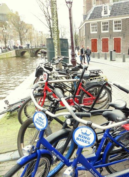 Sulle strade del mondo il travel blog di simonetta clucher for Affitto bici amsterdam