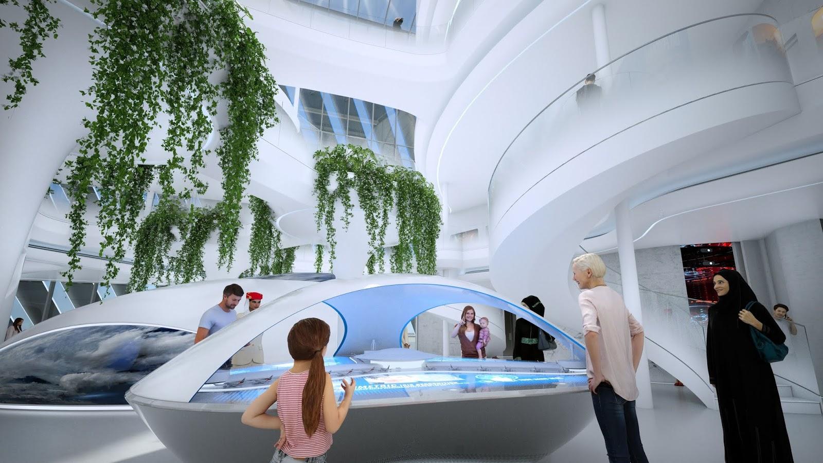 Expo 2020 Dubai – Emirates apresenta seu pavilhão com foco no futuro da aviação comercial – Veja Fotos - É MAIS QUE VOAR