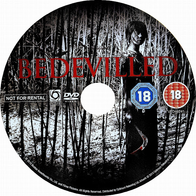 Bedevilled DVD Label