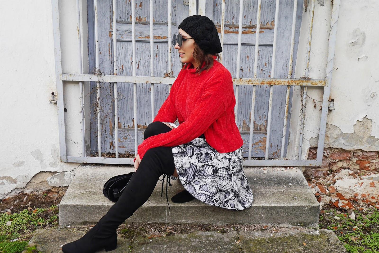 blogerka modowa blog modowy puławy karyn modowe stylizacje beret