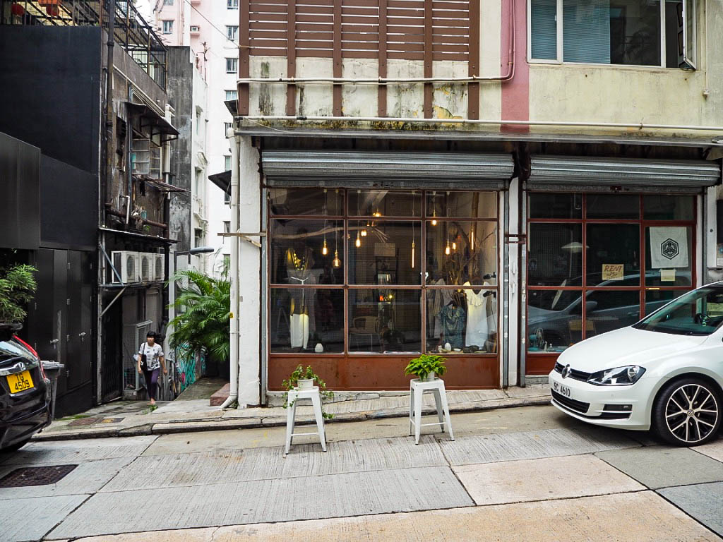 Boutique shop in Sheung Wan