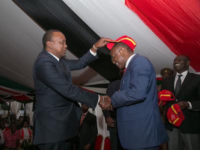 President Uhuru Kenyatta. PHOTO | PSCU