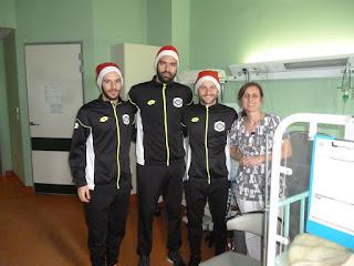 Ο ΣΦΚ ΠΙΕΡΙΚΟΣ μοίρασε δώρα και χαρά στην Παιδιατρική Κλινική του Γενικού Νοσοκομείου Κατερίνης