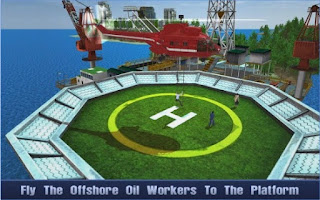 Game Offshore Oil Helicopter Cargo Apk