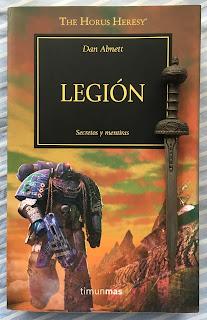 Portada del libro Legión, de Dan Abnett