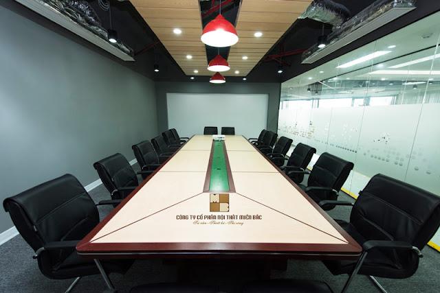 Tiêu chuẩn tạo nên một thiết kế nội thất phòng họp chất lượng - H2