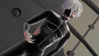Kaneki battle suit