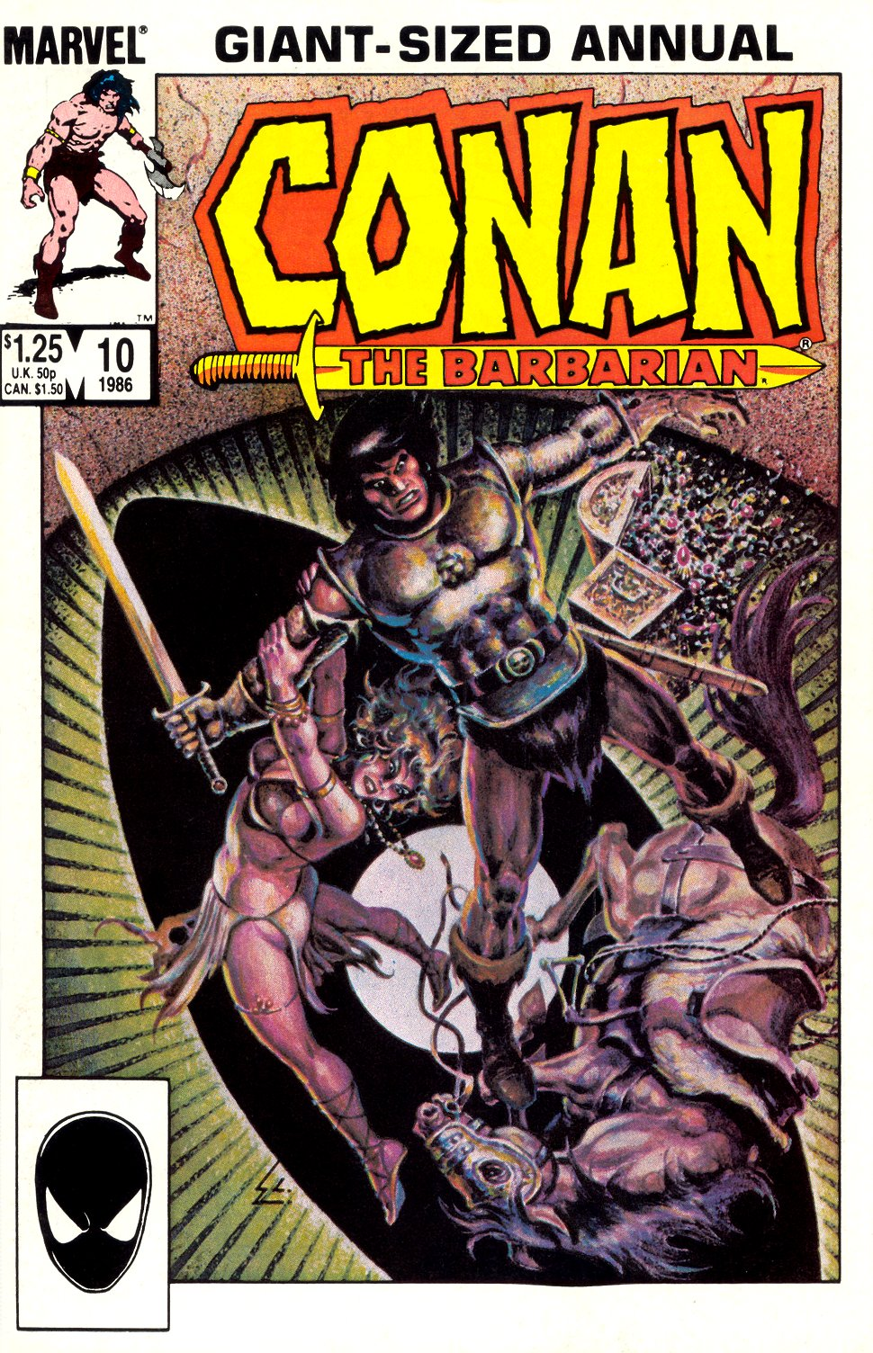 Conan the Barbarian (1970) Annual_10 Page 1