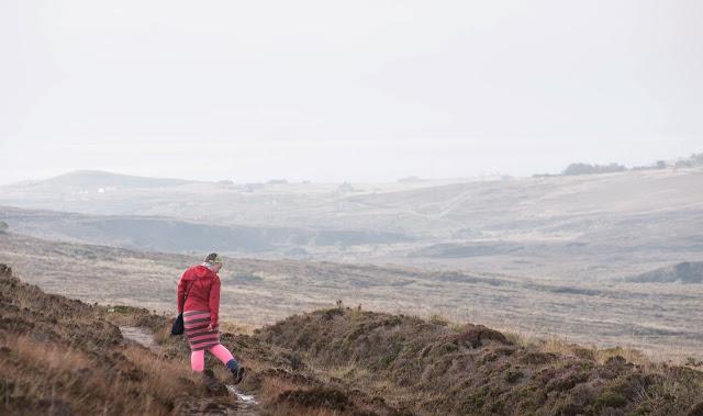 Morning walk on Hoy, Scotland
