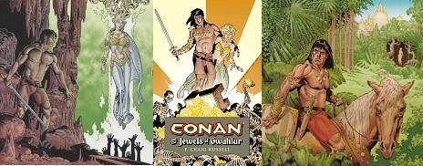 Gwahlur fogai Conan történet