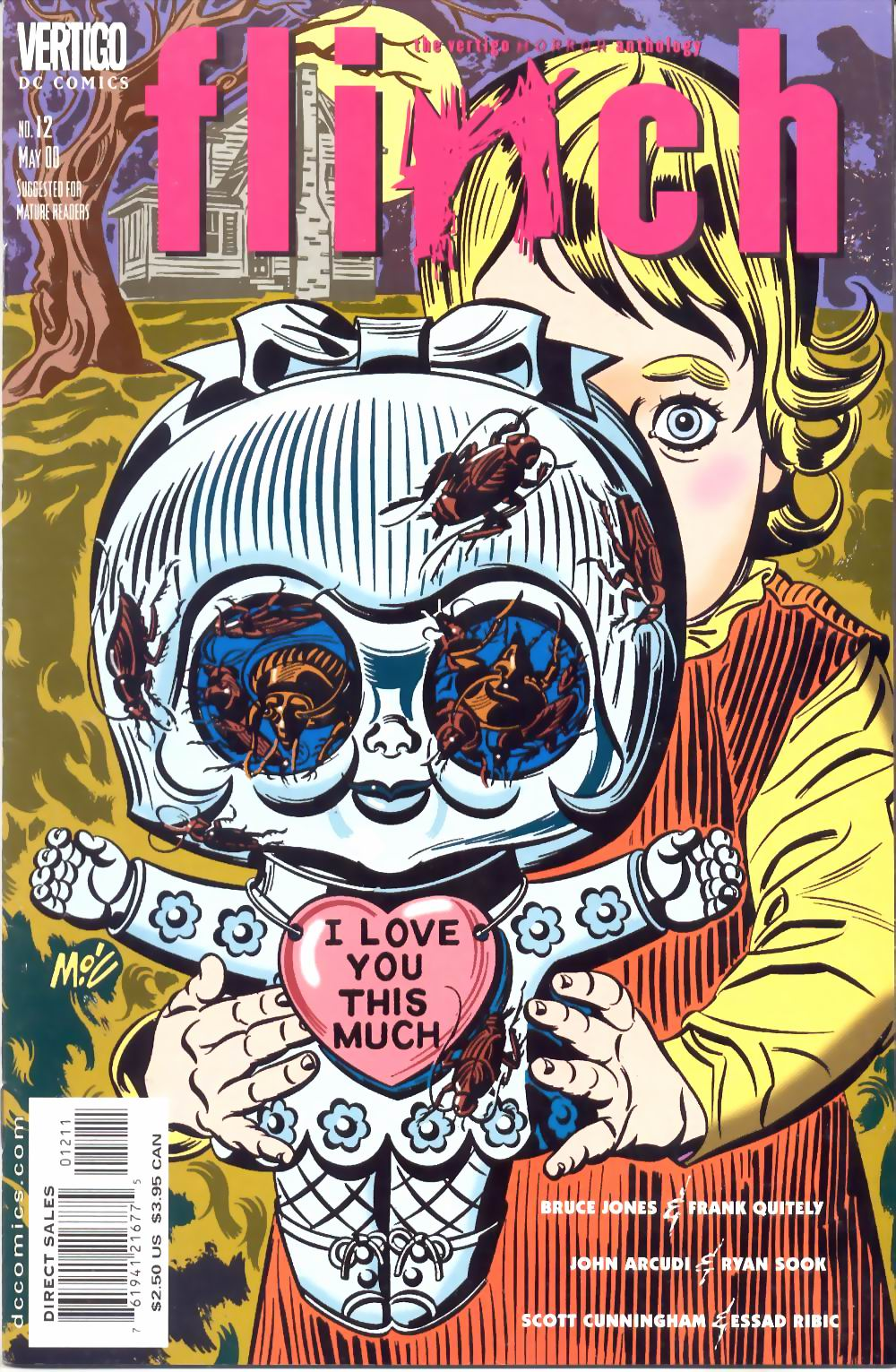 Read online Flinch comic -  Issue #12 - 1