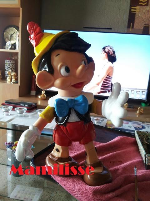 Pinocho de Famosa restaurado, de frente