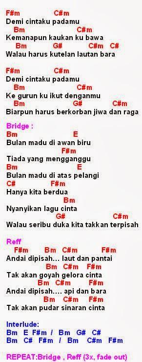 Chord Bulan Madu : chord, bulan, Chord, Romantis, Malaysia