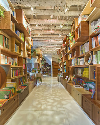 Republic Kids Xangai - Sako Architects - library