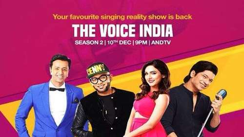 Poster Of The Voice India Season 2 8th January 2017 200MB  576p Free Download Watch Online Worldfree4u