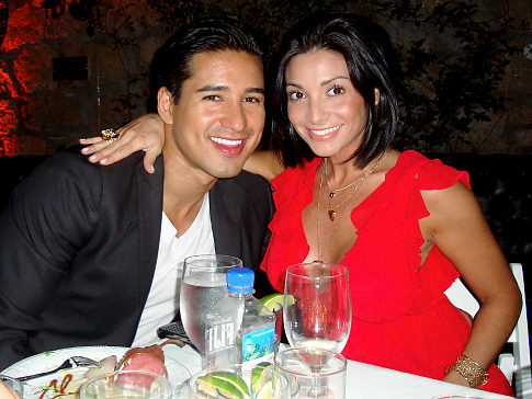 Mario Lopez take Courtney Mazza Home