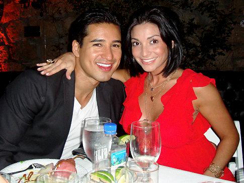 Mario Lopez take Courtney Mazza Home