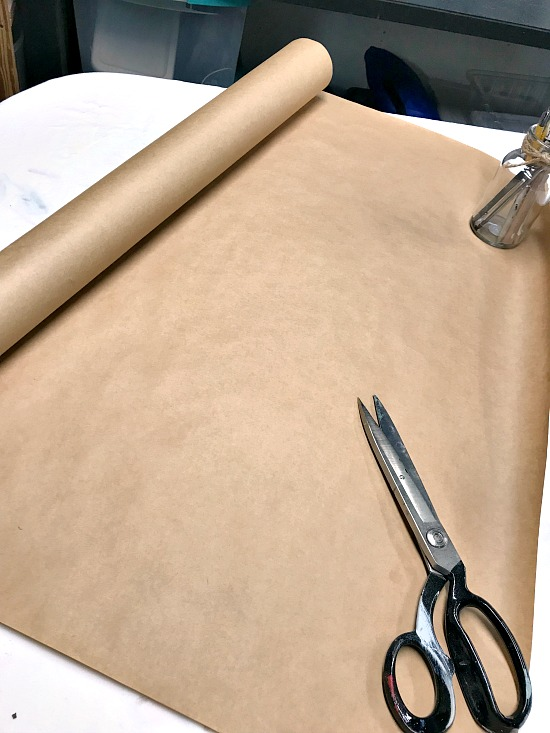 roll of brown paper