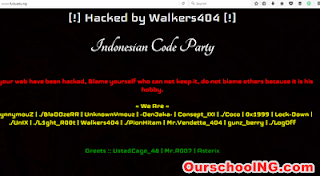 FUTA Official Website Hacked - See Photo