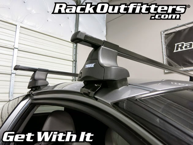 Honda Cr Z W O Short Roof Adapter Thule Traverse Square
