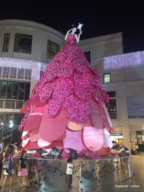 fairy christmas tree bugis simgapore