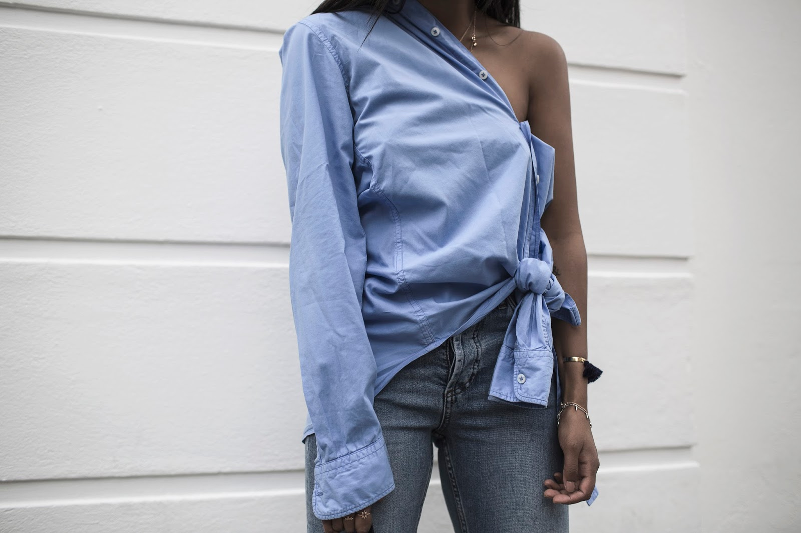 Trend Report | One Sleeve Tops (and Dresses)