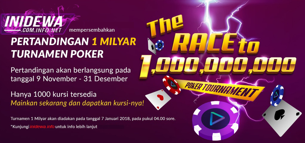 Turnamen Poker Online Inidewa Kumpulan Informasi Judi