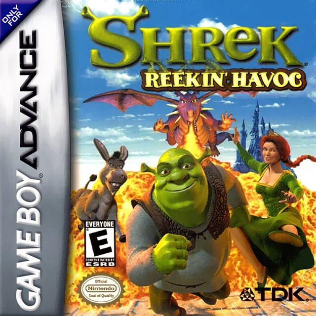 Shrek: Reekin' Havoc (GBA) - The Game Hoard