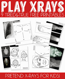 X-ray preschool printables
