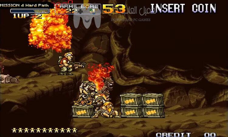 تحميل لعبة حرب الخليج 3 Metal Slug