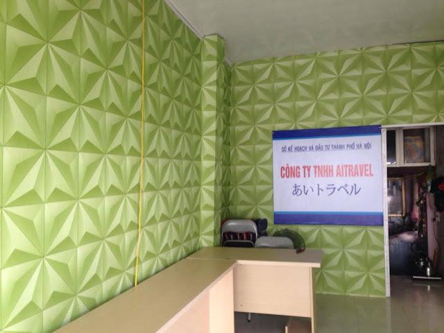 Giấy dán tường 3D được hiểu là giấy dán 3 Dimension