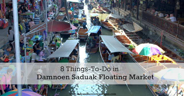 Things to do in Damnoen Saduak Floating Market