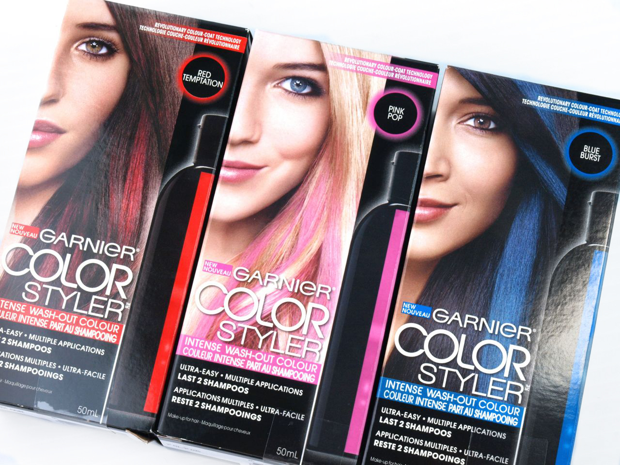 Garnier Color Styler Intense Wash-Out Color: Review | The ...