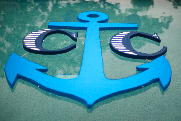 Floating Pool Monogram
