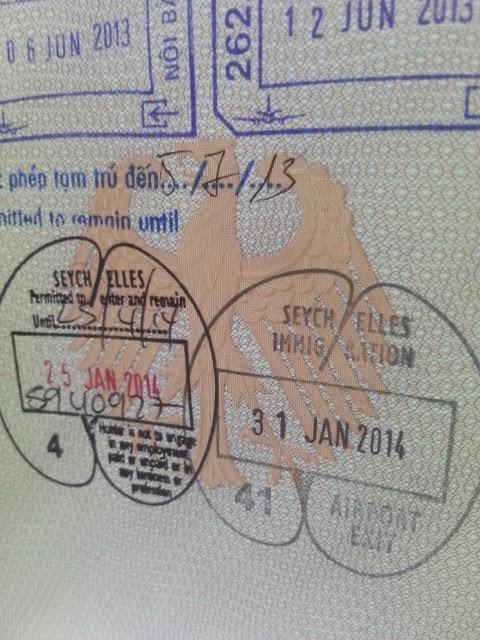 Besucher-Erlaubnis Seychellen (C) JUREBU