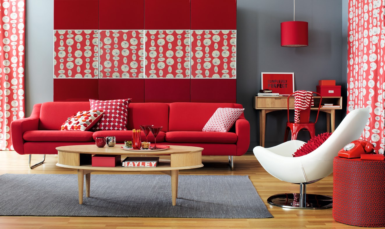 Swell Five Bold And Vibrant Living Room Furniture Themes And Color Machost Co Dining Chair Design Ideas Machostcouk